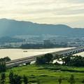 近江大橋と膳所城