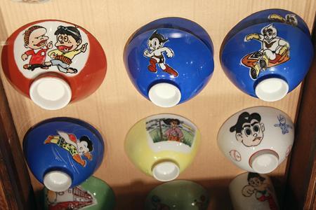 懐かしい漫画の主人公茶碗