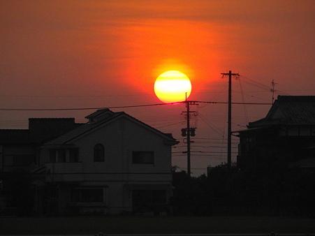 故郷の夕陽3