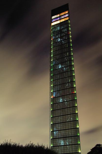 ポートタワーの輝き