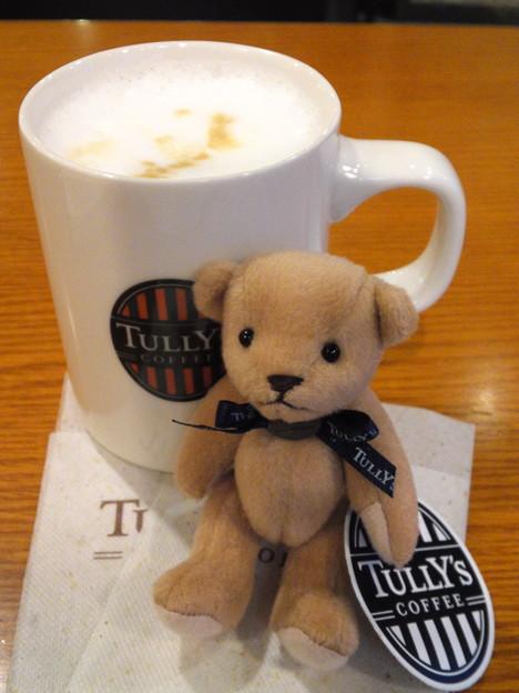 TULLY'S COFFEE ミニテディ