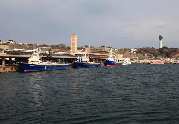 Photos: 風評被害の漁港