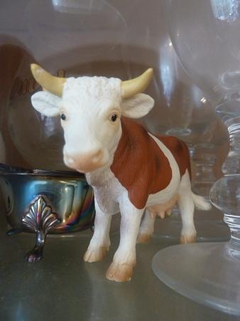 キッチンの牛