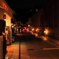 明かり灯る街