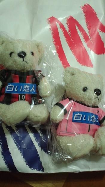 Photos: ちなみに丸井さん南館には、以前注文していたコンサドーレテディを受...