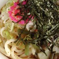 Photos: 安定の美味しさ♪冷やし山菜うどんと…