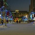 旭川駅ホームの光景