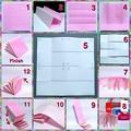 [折り方]豆本を折り紙・千代紙で作る