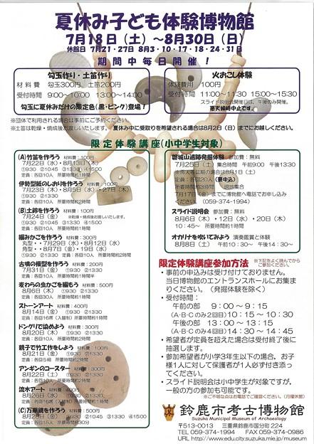 20150718〜夏休み子ども体験博物館