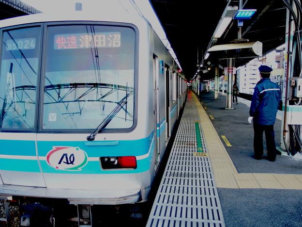 中央線各駅停車高円寺2番線 05-024F快速津田沼行きベル扱い