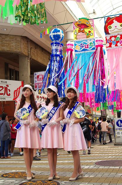 七夕祭り・ミス撮影会(3)