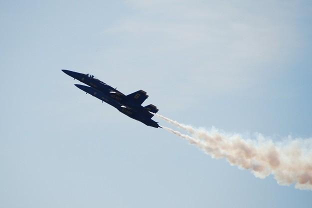 Photos: Blue Angels Section High Alpha Pass 9-4-15