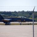 写真: Blue Angels No6 going to the Hangar 9-5-15
