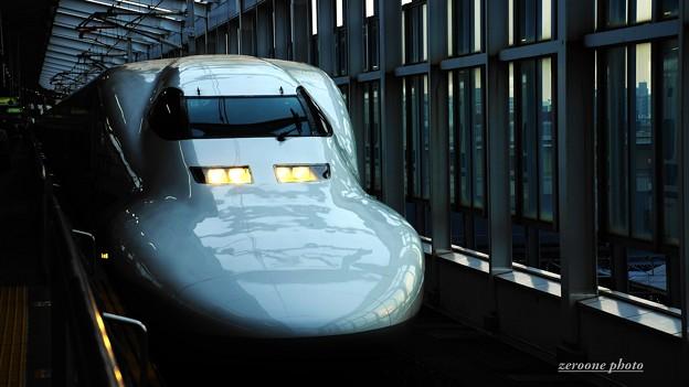 Photos: 山陽新幹線;岡山駅