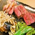 Photos: 珍しくステーキ
