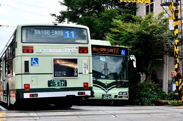 Photos: 2015_0813_140320_JR嵯峨野線の踏切