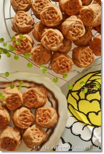 ココアのローズケーキ@BP