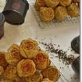 紅茶とクランベリーのローズケーキ@BP