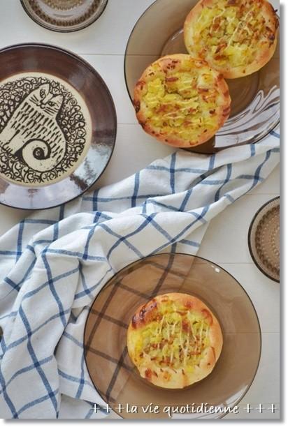 ジャガイモとツナの惣菜パン@酒種