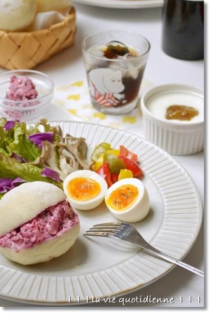 Photos: 白パン@酒種de朝食