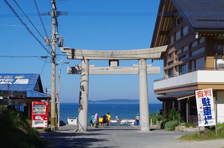 宮司浜 海水浴シーズン