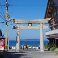 写真: 宮司浜 海水浴シーズン