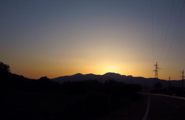 夕陽も良いぞ♪