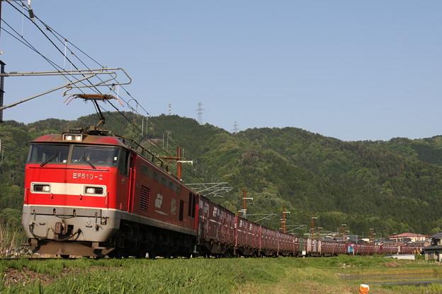 Photos: 余呉カーブを行くEF510-2号機