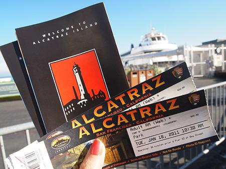 アルカトラズ島のチケット