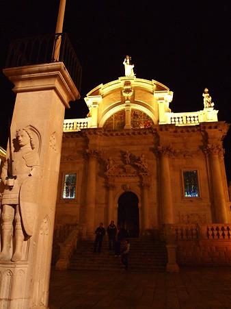 聖ヴラホ教会とローラント像