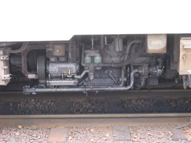 関東鉄道常総線 キハ0形 DMF13HZ主機関