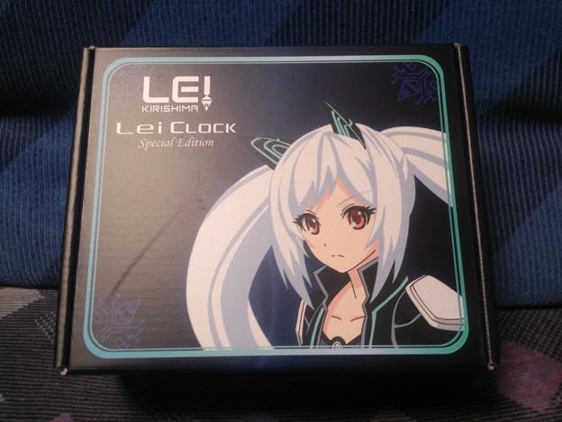 Lei Clock 限定版・ブラック パッケージ
