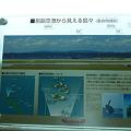 那覇空港から見える島々