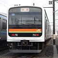 写真: 川越・八高線209系3000番台 ハエ63編成 快速表示