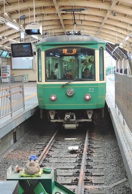 江ノ電@藤沢駅