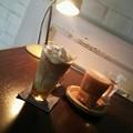 そして、ハニーシナモンラテとカフェラテ@JAM CAFE