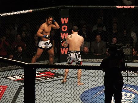 UFC 144 ライト級タイトルマッチ フランク・エドガーvsベンソン・ヘンダーソン (4)