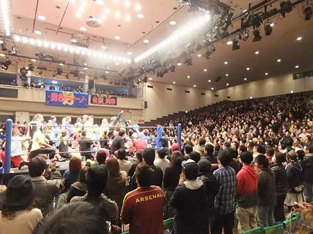 DDTプロレス 後楽園ホール 20110327 (11)