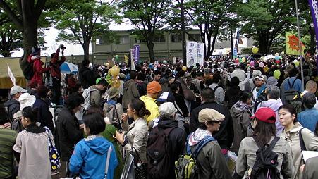 渋谷 原発やめろデモ 20110507 (2)