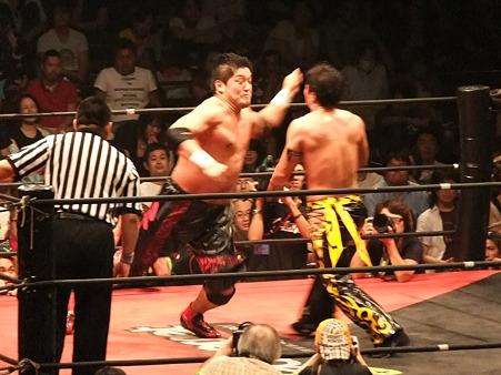 DDT 両国ピーターパン2011 〜二度あることは三度ある〜 KO-D無差別級選手権 石川修司vsKUDO (15)