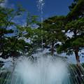 高田公園の噴水
