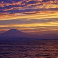 江ノ島弁天橋からの富士山