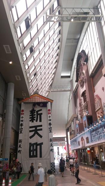 2015年 博多祇園山笠 飾り山笠 建設中 写真画像 (9)