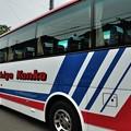 滋賀観光のバスで移動していました