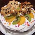 写真: 2011-7-7 ryu*ryuのバースディケーキ