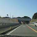写真: 新東名・森SA付近。