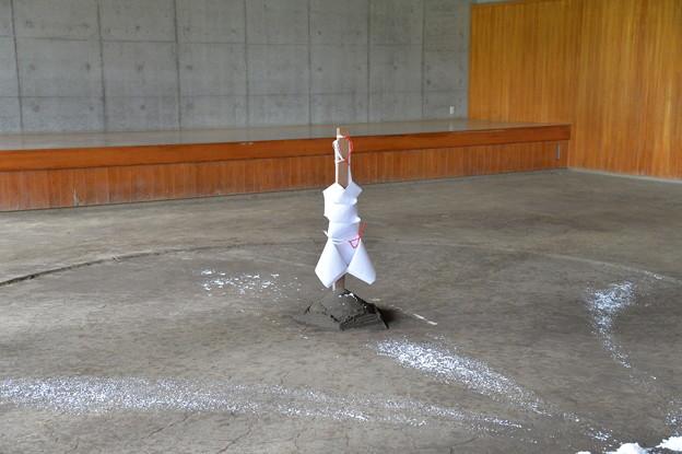 相撲教習所の土俵