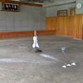 Photos: 相撲教習所の土俵