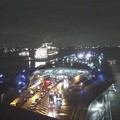 横浜港大さん橋WEBカメラ2015.9.18 18:41