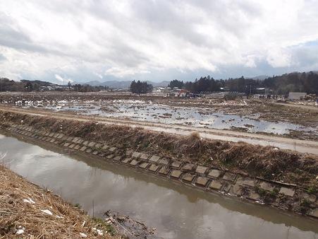 山元町 がれき撤去作業
